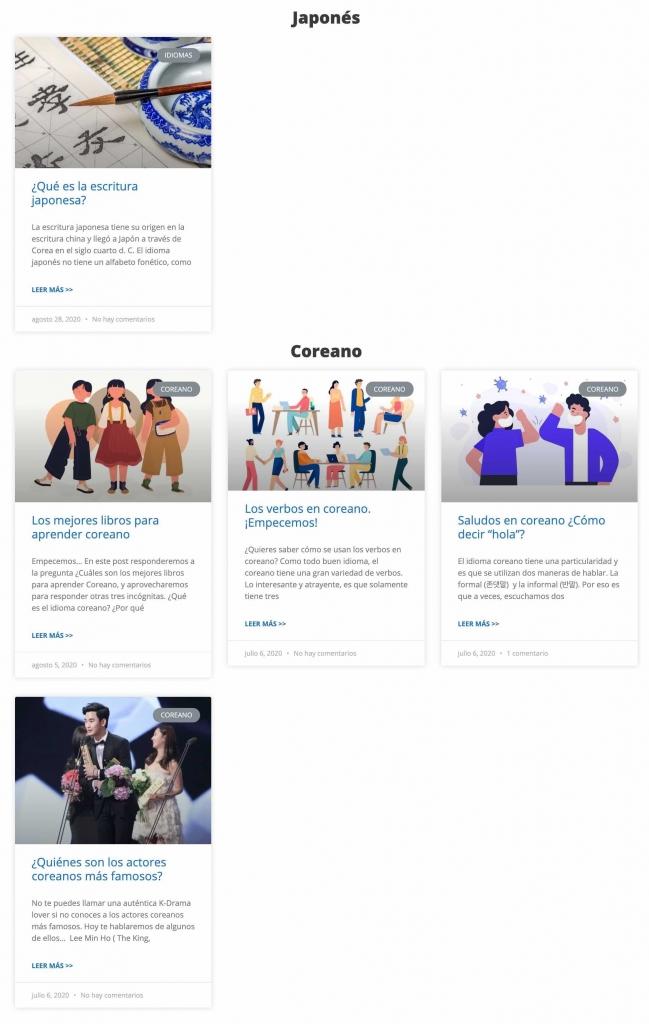 blog hanyu chinese school contenidos japonés coreano